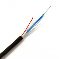 Оптичний кабель універсальний CMS-U-DQ(BN)H-12F E9/125-1.0kN оболонка FRNC