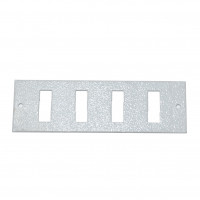 4SC Duplex front panel for UA-FOBC-G, gray