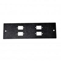 Лицьова панель 4SC Simplex для UA-FOBC-B, чорна