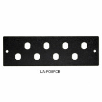 Front panel 8FC / ST for UA-FOBC-B, black