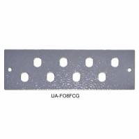 Front panel 8FC / ST for UA-FOBC-G, gray