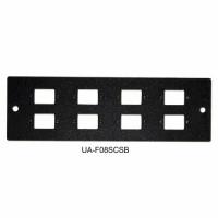 Front panel 8SC Simplex for UA-FOBC-B, black