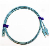 Патчкорд SC/UPC-LC/UPC MM (OM3) 1м Duplex