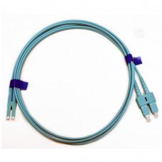 Patch cord SC/UPC-LC/UPC MM (OM3) 1м Duplex