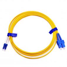 Patch cord SC/UPC-LC/UPC SM 1м Duplex