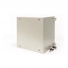 Cabinet anti-vandal 9U, 450x450 mm (G * V), gray