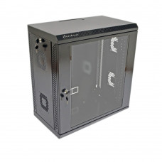 Cabinet 12U, 600x350x640 mm (W*D*H), acrylic glass
