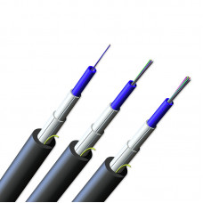 FREEDM™ B2 Gel-free Central Tube Indoor Outdoor Cable  1x12 G50 MMF ClearCurve® OM4 CT 2.5