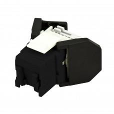FutureCom™ E100 Unshielded  OCK5EU-BK8, E100UBK, RJ45 Vol, Cat5e, Bag/8, Black
