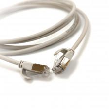 Patch cord U/FTP, 1m, cat. 6А, 28AWG Slim, LSZH, LW