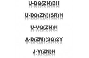 Стандартизація DIN & VDE (набір буквених кодів для позначення кабелів).