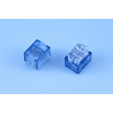 The connector wiring B-type (two-sided, 2-wire 0.4 ... 0.7 mm), blue Kingda.