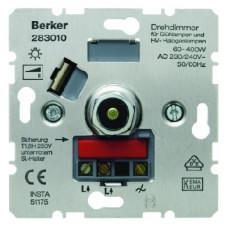 Berker S.1 Rotary-push dimmer 400W