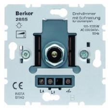 Berker S.1 Rotary-push dimmer 1000W
