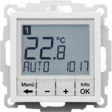 Berker S.1 Temperature controller, circuit breaker , with a central panel