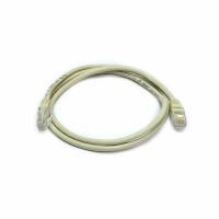 Patch cord UTP, 1 m Cat. 5e, gray