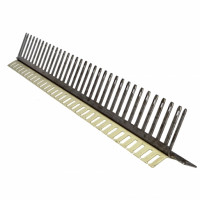 Mounting angle with open jumper comb, 32 IDC strips