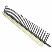 Mounting angle with closed jumper comb, 32 IDC strips