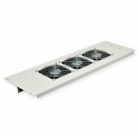 3-fan unit on the roof for cabinets MGSE 610mm, gray
