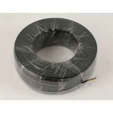 Telephone cable 4-wire, copper, black
