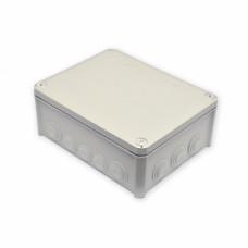 Коробка розподільна, зовнішня, пластикова 240х190х95, 16 вводов IP66, без клем.