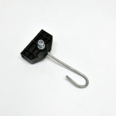 """Зажим підтримуючий П1 для кабелю діаметр 4-8 мм. та """"фігура 8"""""""