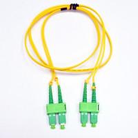 Patch cord SC/APC-SC/APC SM 1м Duplex