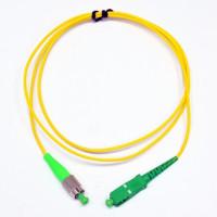 Patch cord SC/APC-FC/APC SM 1м Simplex