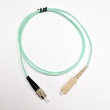 Patch cord SC/UPC-FC/UPC MM (OM3) 1м Simplex