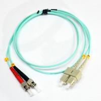 Patch cord ST/UPC-SC/UPC МM 1м Duplex