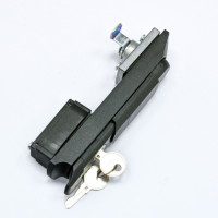 Lock with rotary knob for cabinet doors MGSE