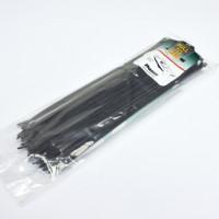 Cтяжка 290x3.6 мм, 100 шт, чорна, weather resistant