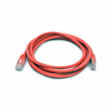 Patch cord UTP, 1 m, Cat. 5e, red