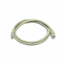 Patch cord UTP, 0,5 m Cat. 5e, gray