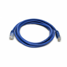 Patch cord UTP, 3 m, Cat. 5e, blue