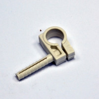 Clip for fixing pipes D15-d16, with nut D8 / 36 and the impact screw, gray, INSTAIL. (pac.50pc)