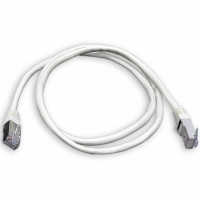 Patch cord FTP, 0,5 m, Cat. 5e, gray