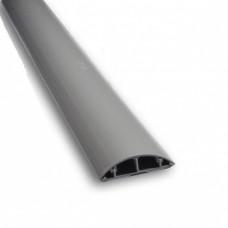 Короб підлоговий 90x19 мм , сірий , 1 м