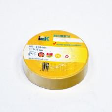 Insulating tape e 0,13mm x 19mm x 10m, yellow
