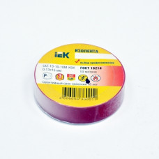 Insulating tape e 0,13mm x 19mm x 10m, red