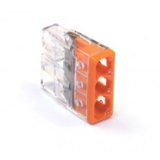 Connector COMPACT  for solid wires  3х1...2.5mm2