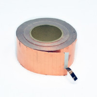 Токопровідна самоклеюча мідна стрічка 9х70 мм
