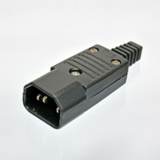 Connector plug is disassembled, C14, 10A