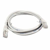 Patch Cord UTP,kat 6, LSZH, RJ45 - RJ45 connector, grey, 0.5m
