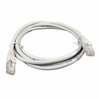 Patch Cord UTP,kat 6, LSZH, RJ45 - RJ45 connector, grey, 5.0m