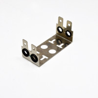 Back mount frame for 10 pairs LSA module 2 way