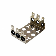 Back mount frame for 30 pairs LSA module 3 way