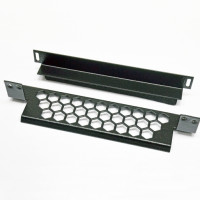 """Rear cable organizer """"honeycomb"""" for FOPE panels is black"""