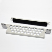 """Rear cable organizer """"honeycomb"""" for FOPE panels is gray"""