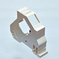 Socket for 1 KeyStone module, DIN rail mounting, EPNew